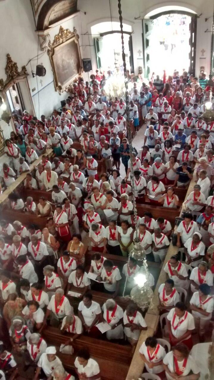 Missa com membros do Apostolado da Ora��o