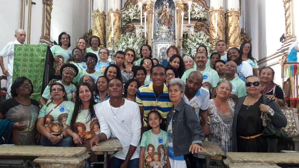 Visita da Pastoral Familiar de Alagoinhas - 24/09/2017