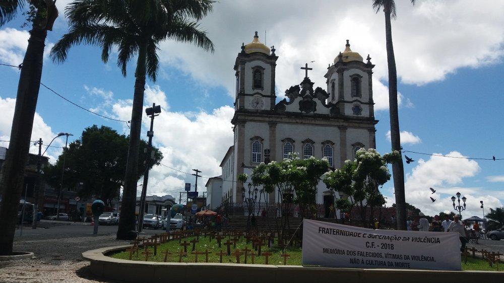 Cruzes na Praça do Bonfim