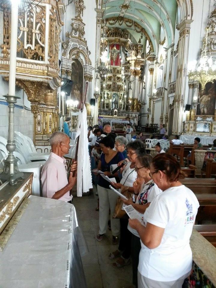 Via sacra na Basílica