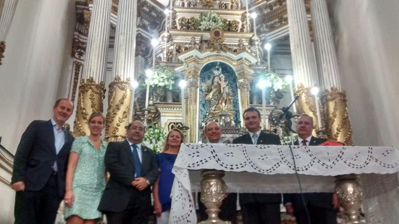 Visita da Presidente da C�mara Municipal de Set�bal