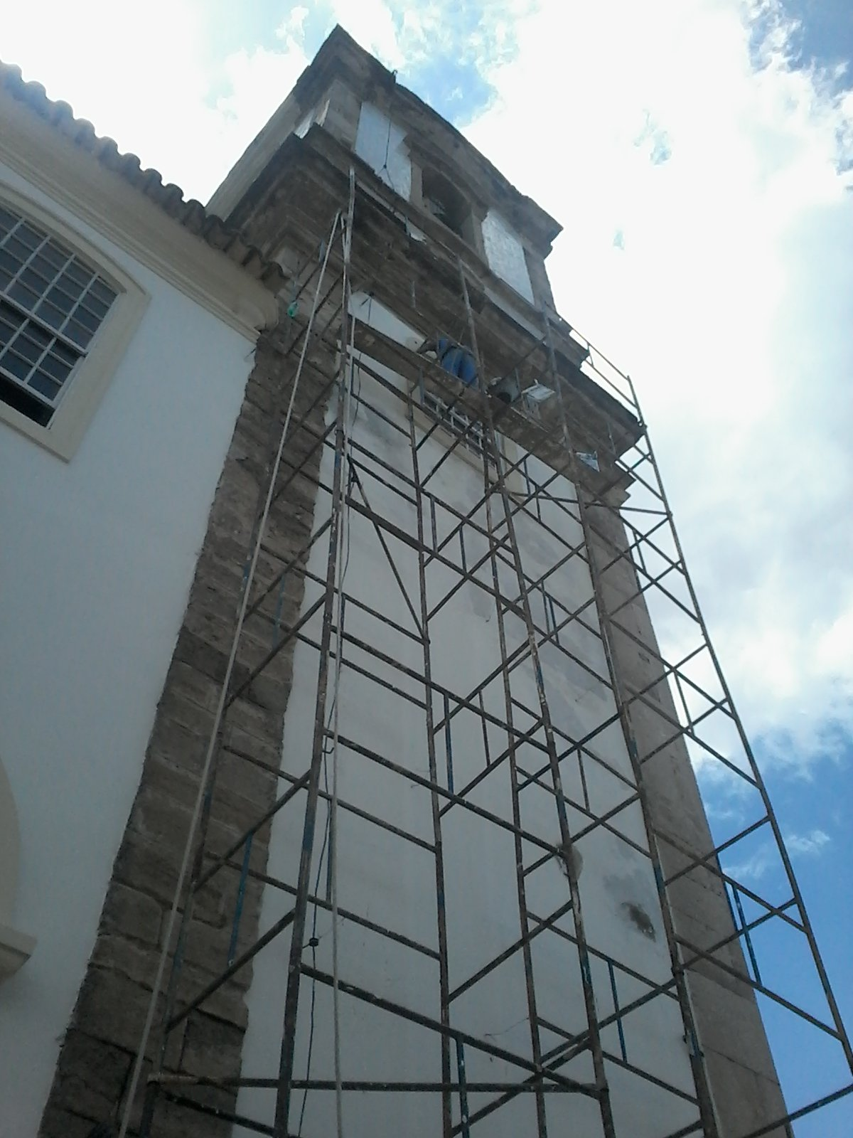 Pintura da Bas�lica Santu�rio