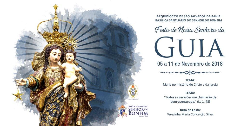 Semana Preparatória da Festa de Nossa Senhora da Guia 2018