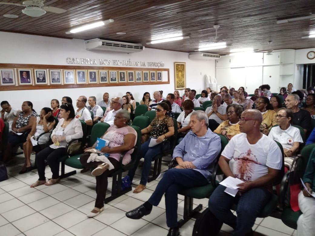 Voluntários da Basílica do Bonfim participam de Encontro de Formação