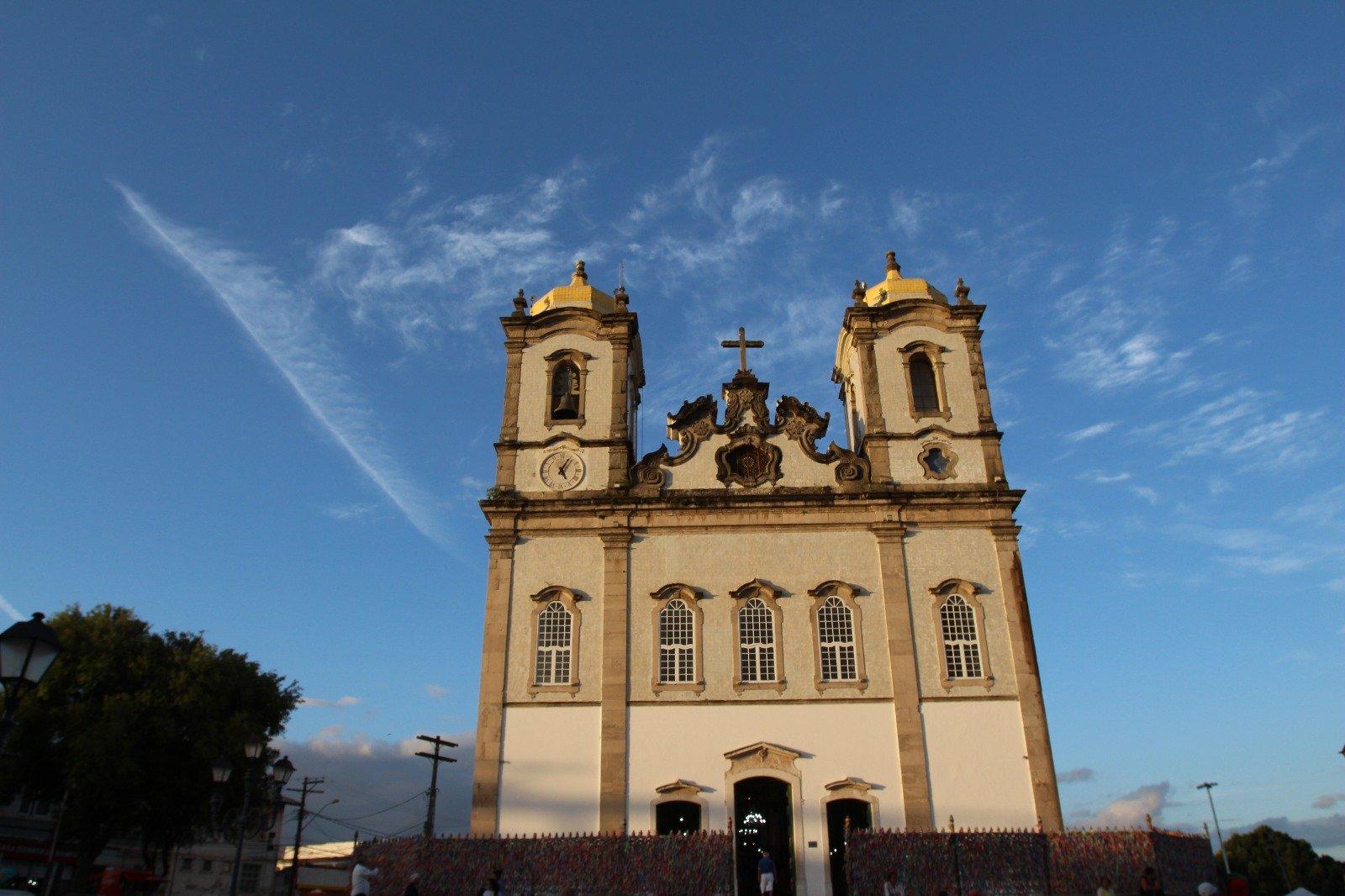 Confira os horários de Missas da Basílica do Bonfim durante os jogos da Seleção Brasileira