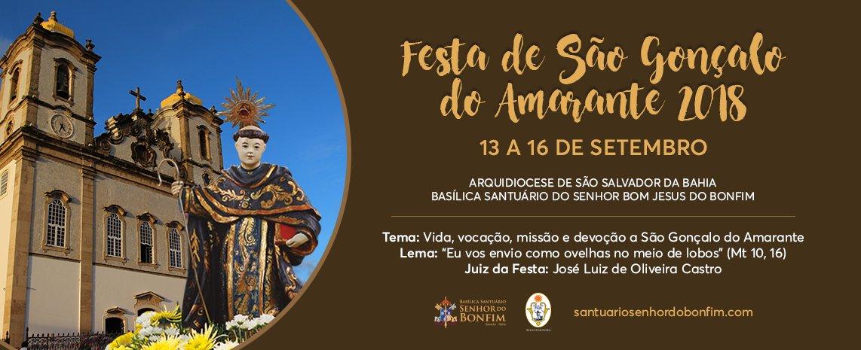 Festa de São Gonçalo do Amarante 2018