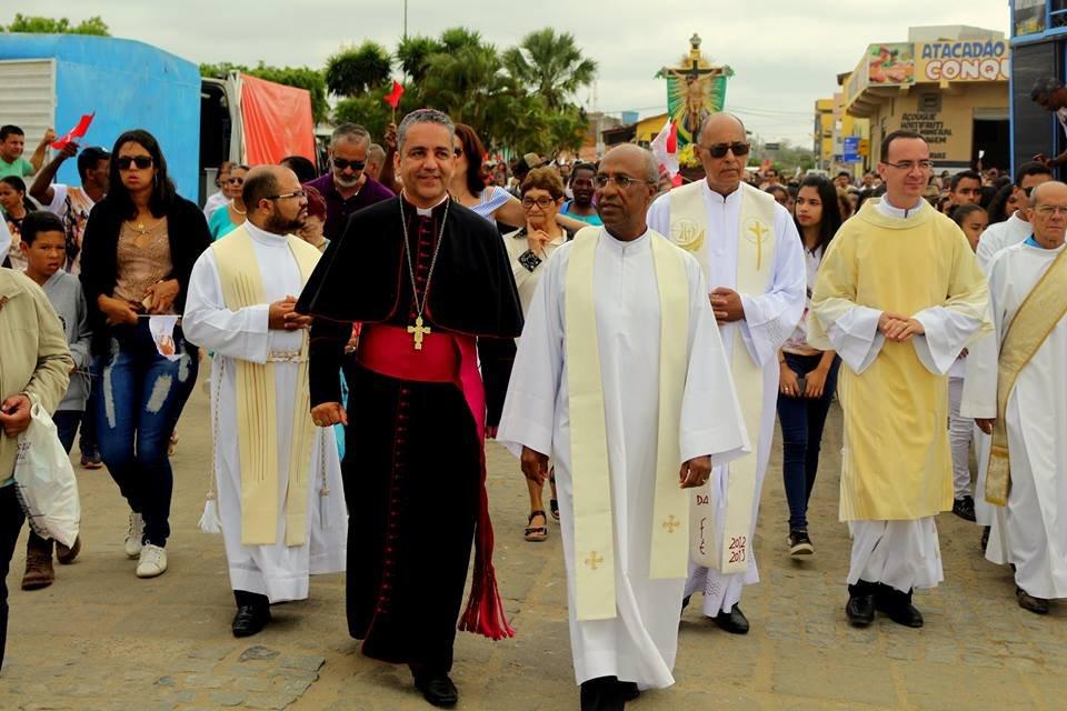 Planalto recebe a Imagem Peregrina do Senhor do Bonfim
