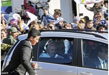 Papa Francisco: reclus�o n�o � o mesmo que exclus�o