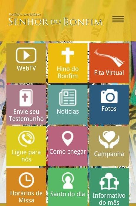Bas�lica Santu�rio do Senhor do Bonfim lan�ar� aplicativo no dia 03 de julho