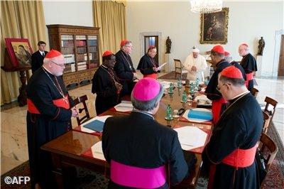 Conselho de Cardeais re�ne-se no Vaticano