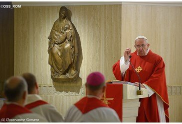 Papa: a Igreja � fiel a Cristo quando � pobre e humilde