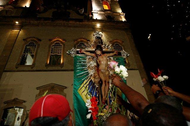 Reitor faz reflex�o sobre tema da Festa do Senhor do Bonfim de 2015
