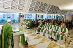 Papa: Jesus aquece o cora��o do povo