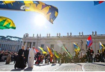 Papa na audi�ncia geral: os filhos s�o um dom de Deus!