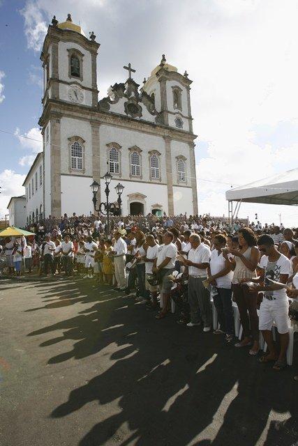 Caminhada vai anteceder cortejo das baianas na Lavagem do Bonfim