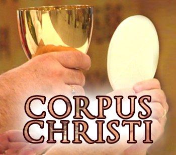 Bas�lica faz prociss�o com o Sant�ssimo no dia de Corpus Christi