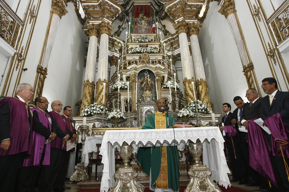 Missa comemora 260 anos da Bas�lica Santu�rio do Senhor do Bonfim