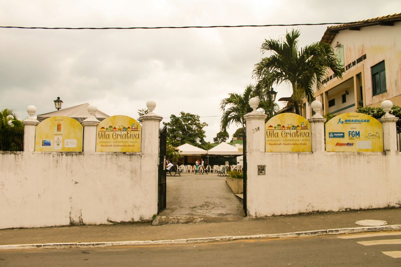 Vila Criativa re�ne artesanato, gastronomia e m�sica no Centro Comunit�rio do Bonfim
