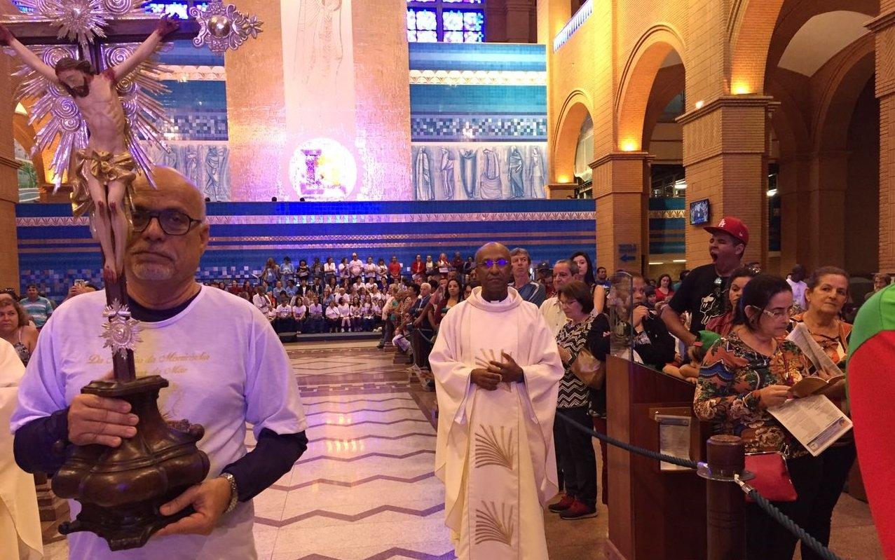 Bas�lica do Bonfim participa da Romaria de Santu�rios ao Santu�rio Nacional de Aparecida