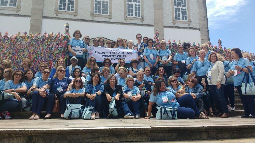 Grupo Women's Clubs agradece ao Senhor do Bonfim pelo trabalho realizado