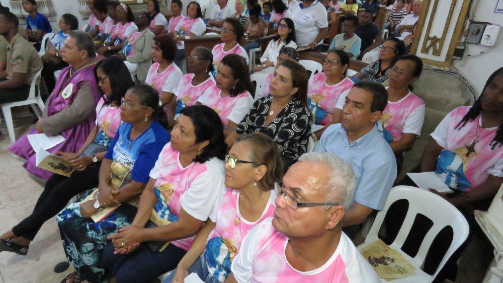 Comunidade Nossa Senhora das Gra�as prestigia Festa de Nossa Senhora da Guia no Bonfim