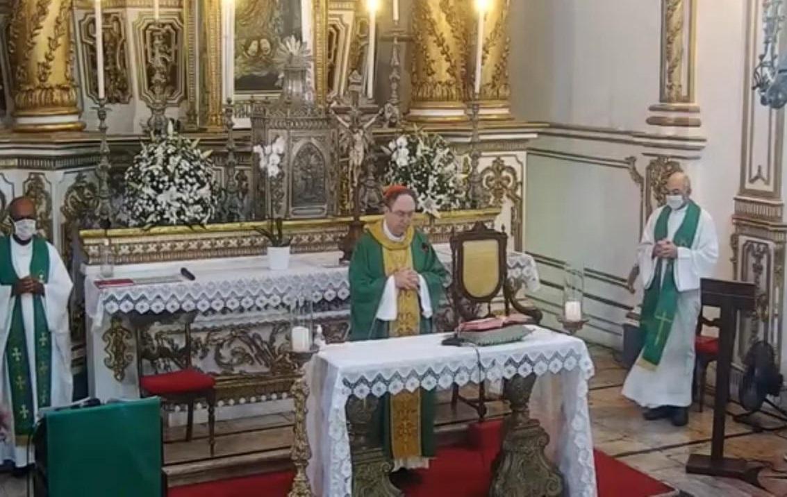 Primeira Missa do Cardeal Dom Sergio da Rocha no Bonfim