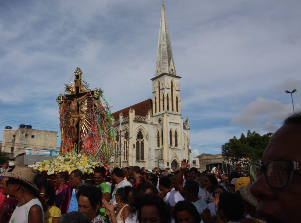 Imagem Peregrina do Senhor do Bonfim estar� em par�quia de Cruz das Almas em setembro