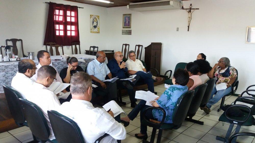 Reuni�o discute organiza��o e estrutura��o das Festas da Colina Sagrada