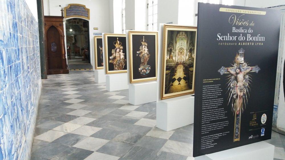 Exposi��o fotogr�fica apresenta o rico acervo de obras de arte sacra da Bas�lica do Bonfim