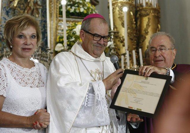 Cerimônia do título de Patrimônio Imaterial do Brasil à Festa do Senhor do Bonfim