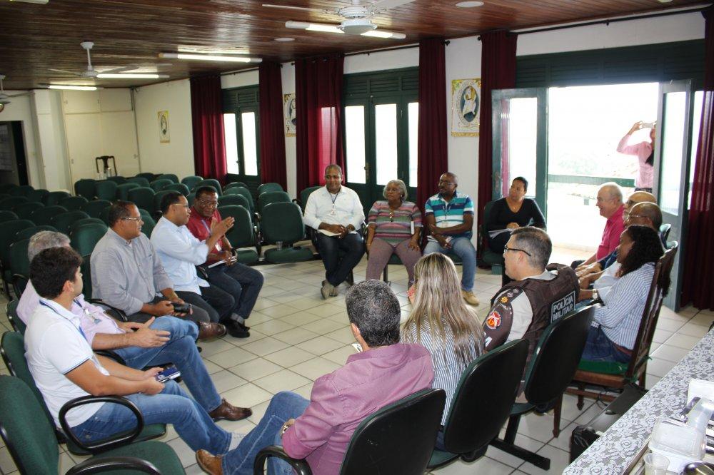 Reunião com representantes da Prefeitura Municipal do Salvador e do Governo do Estado da Bahia