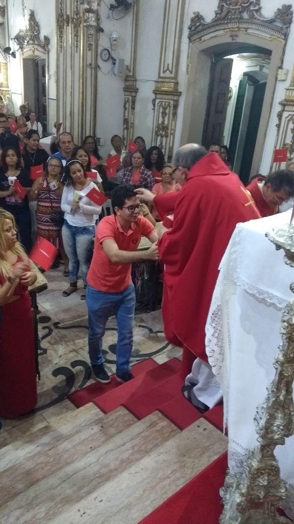 Missas de Pentecostes na Basílica do Bonfim 2017