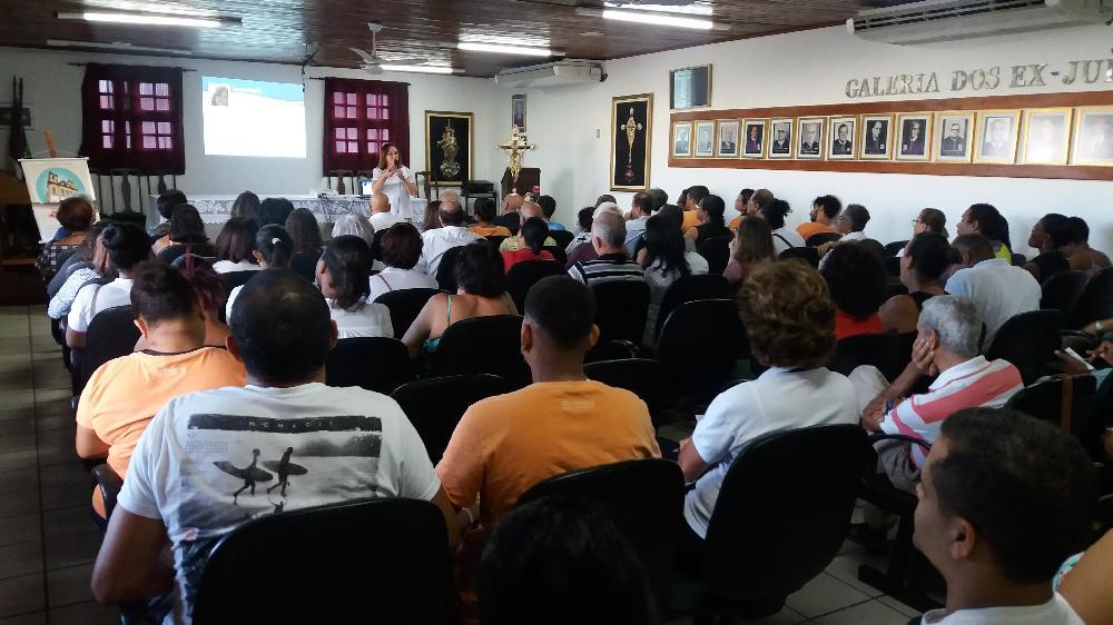 Workshop sobre Acolhimento ao Devoto reúne voluntários e colaboradores no Bonfim