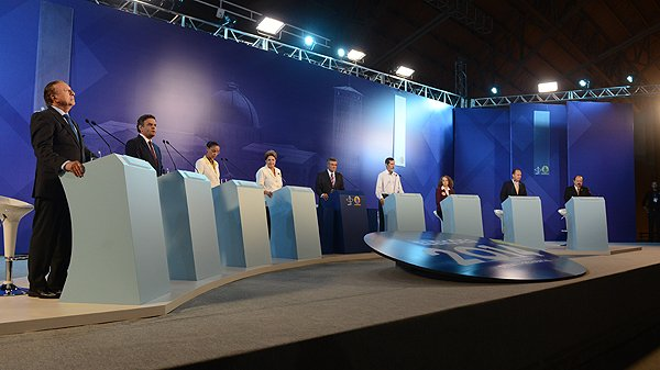 Debate da CNBB: presidenci�veis apresentam propostas de governo