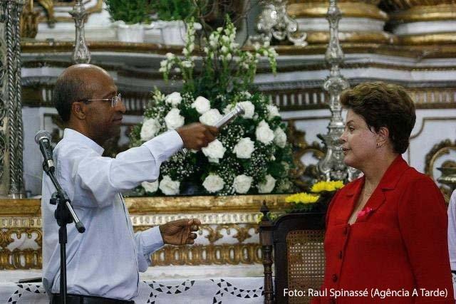 Presidente Dilma Rousseff visita Bas�lica