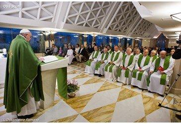 Papa Francisco: A convers�o � certa quando chega ao bolso