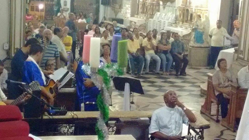 Momento de oração pelo êxito da Festa de Senhor do Bonfim 2016