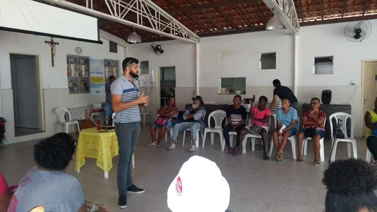 Atendimento no Projeto Bom Samaritano