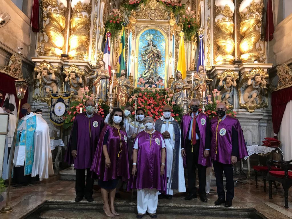 Devoção do Senhor do Bonfim na Novena da Festa de Nossa Senhora da Conceição da Praia