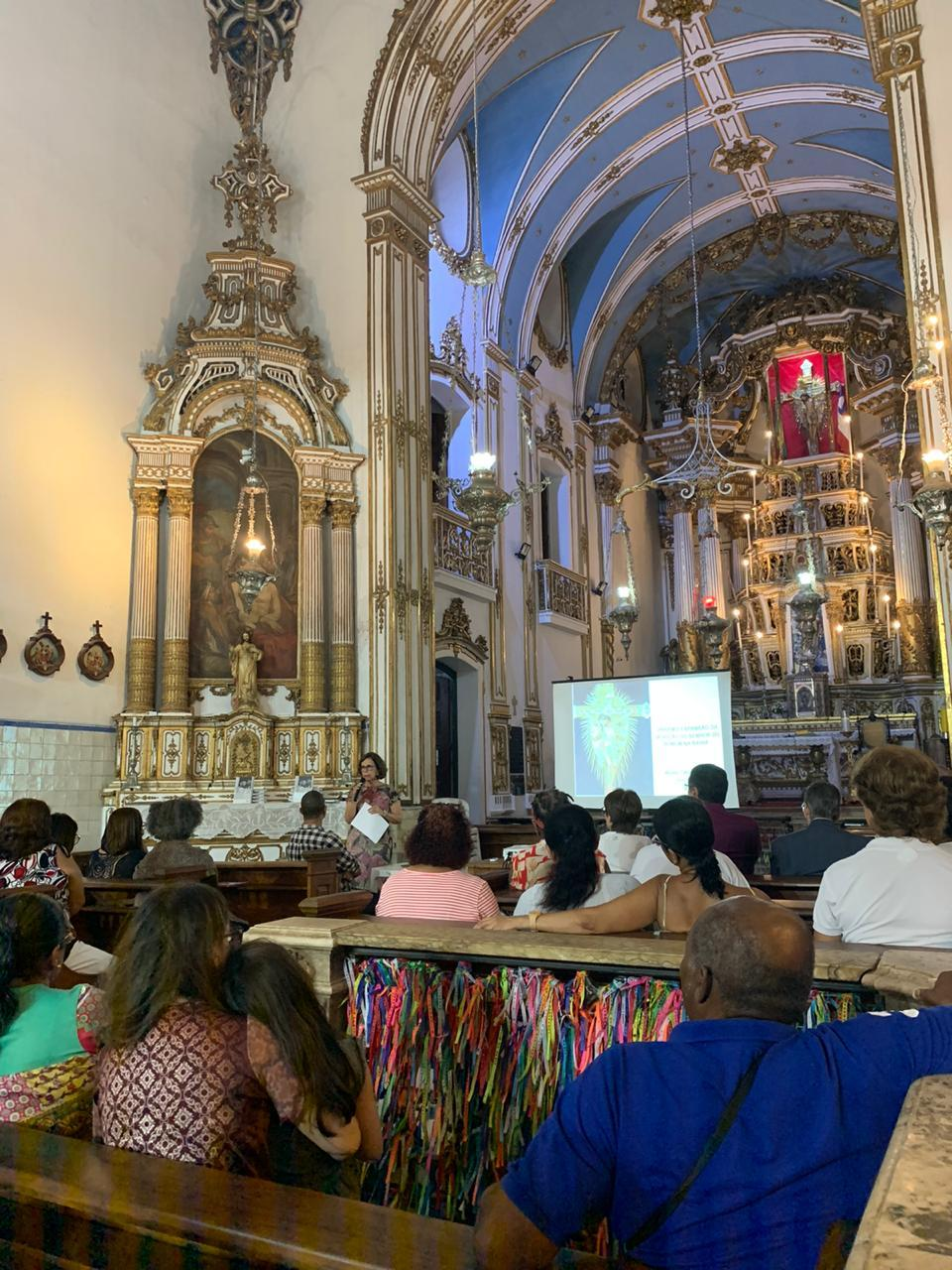 Palestra sobre a origem e a expansão da Festa do Senhor do Bonfim da Bahia