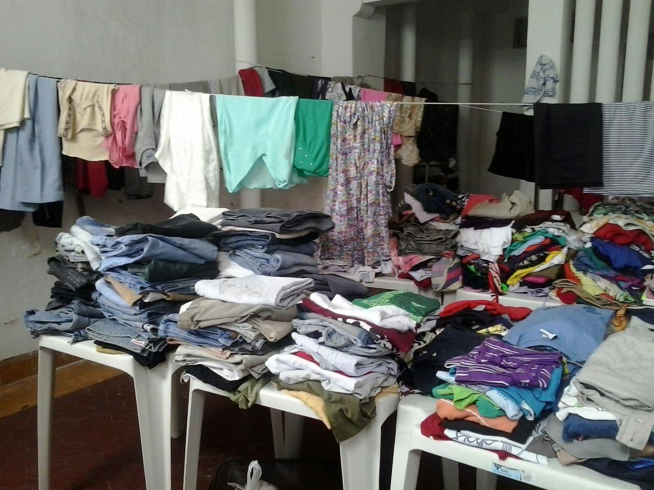 Bazar do Projeto Bom Samaritano