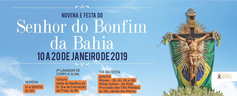 Novena da Festa do Senhor do Bonfim 2019