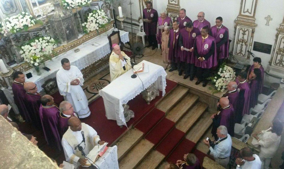 Lançamento da programação da Festa do Senhor do Bonfim 2015 em missa