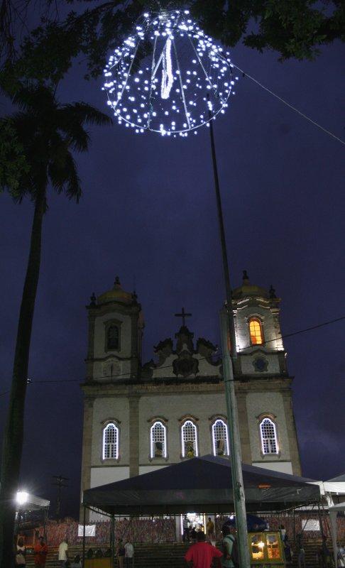 Primeira noite da Novena da Festa do Senhor do Bonfim