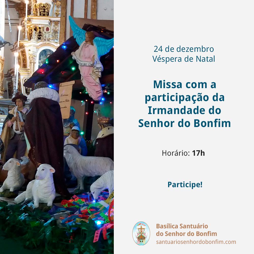 Missa Véspera de Natal 2019