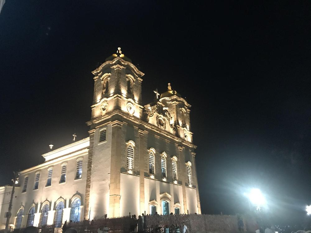 Inauguração da iluminação cênica da Basílica