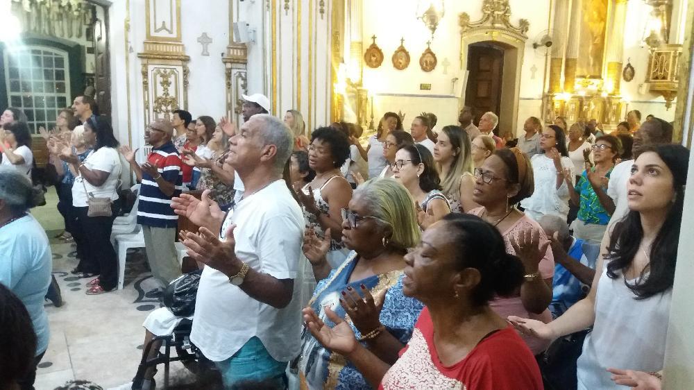 Segundo dia do tríduo em homenagem a São Gonçalo do Amarante é marcado por fé e devoção