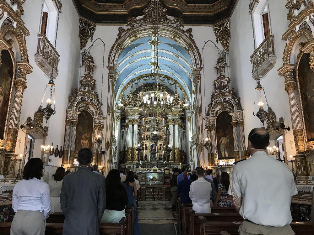 Sinos da Basílica do Bonfim voltam a tocar juntos após mais de 30 anos