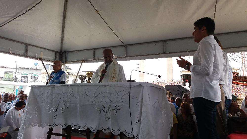 Missa Campal marca entrega da segunda etapa de requalificação da Colina Sagrada