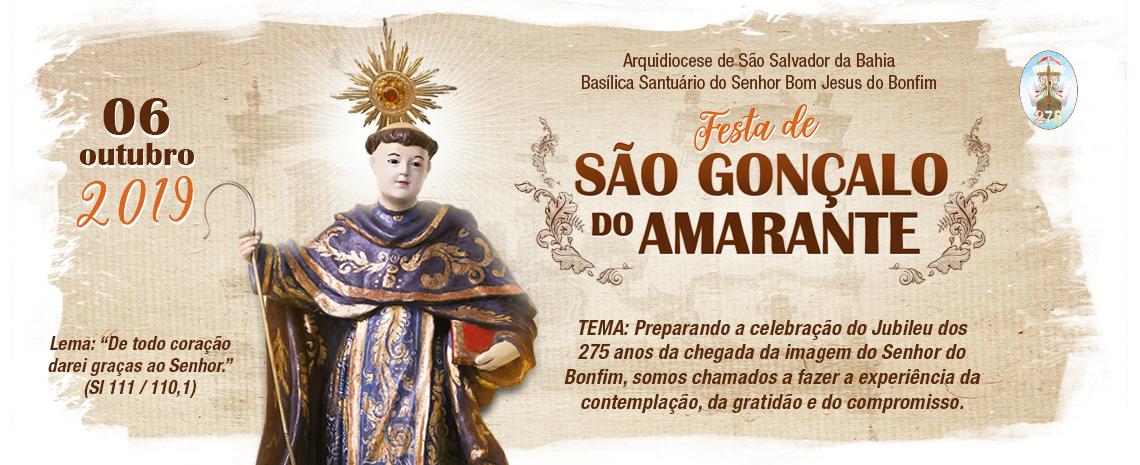 Basílica Santuário celebra Festa de São Gonçalo do Amarante